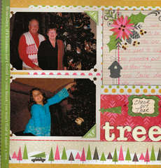 Check out that Tree using We R Merry & Bright Collection