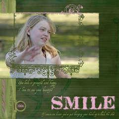 Chloe's Smile 08/06