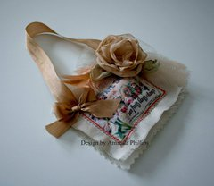 Fabric Sachet by Amanda Phillips