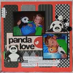 Panda Love by Melissa Dehne
