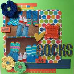 Socks by Kathy Gillon