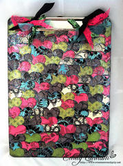 Street Lace Clipboard by DT Member Emily