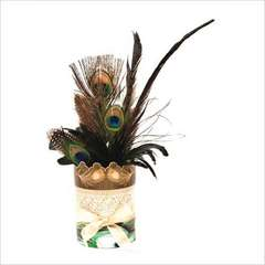 Feather Vase using DCWV Royal Garden Stack