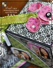 Street Lace Friendship Card & 3D Cube