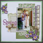 Spring featuring the Chateau Lavender Stack
