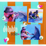 a Dolphin Tale featuring the Creamy Stack from DCWV