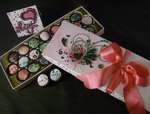 Valentine Candy Box and I Love You Card