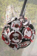 Poppy Flower Ball/Ornament