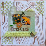 ***FLAMINGO SCRAPS*** Crocus