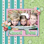 Good Times using Brand New Cloud 9 Alyssa's Garden Collection