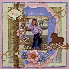 Little Cowgirl *Heartfelt Creations*