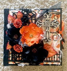 Vintage Halloween Mini Album