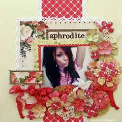 Aphrodite *Scrap That June Kit* Websters Pages