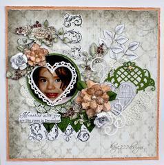 December Roses *Heartfelt Creations*