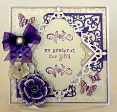 Purple Butterflies *Heartfelt Creations*