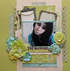 Reflection * Scrap That June Kit* Websters Pages