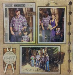 Groomsmen - Wedding Scrapbook