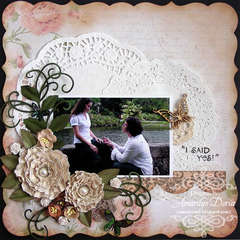 I said yes! {ScrapThat! July Kit Reveal}