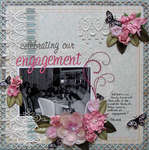 celebrating our engagement {ScrapThat! June Kit Reveal}