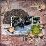 wild deer {ScrapThat! July Kit Reveal}