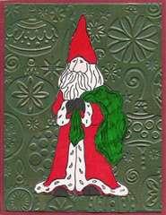 Santa on Ornaments