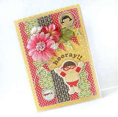 {Hooray!} card