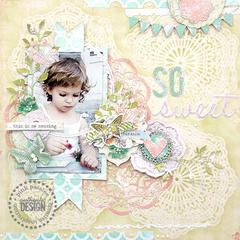 {So Sweet} *Pink Paislee*