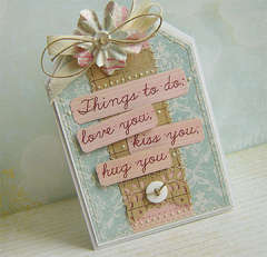 Things to do... - card