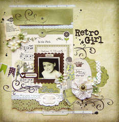 {Retro Girl} *TCR#36*