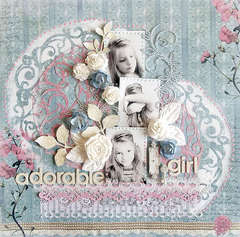 {Adorable Girl} * Swirlydoos May Kit*