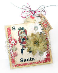 {S is for Santa} * Pink Paislee / Manor House Creations*