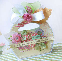 {Bag full of heartfelt wishes} - card *Webster's Pages