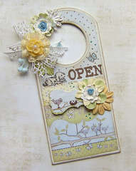 {Door Hanger} *NEW Prima*