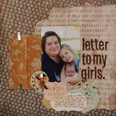 Letter to my Girls