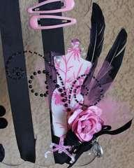 Barrette Organizer *Clear Scraps* CHA-S 2011 NEW Release