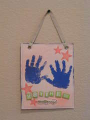 Handprint Wall Hanging