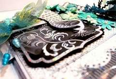 Peacock Mini Book *Kanban Crafts DT*