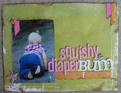 Squishy Diaper Bum