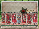 Reminisce Here Comes Santa Card