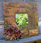 Reminisce Autumn Harvest Mirror Decor