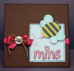 Bee Mine Card *NEW Bella Blvd*