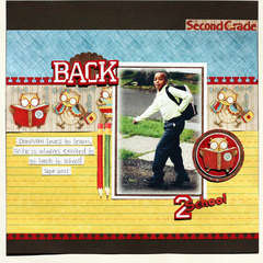 Back 2 School *NEW Creative imaginations*