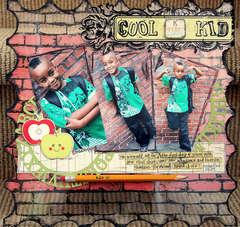 Cool Kindergarten Kid *Purple Cows*