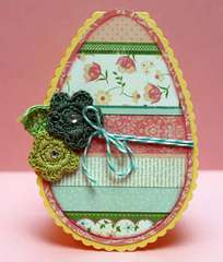 Easter Egg Card *Petaloo*