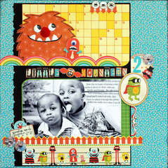 Little Monsters *Scrapbooking & Beyond Magazine*