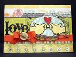 Lovebirds Card *gonescrapbooking/examiner*
