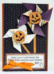 Pumpkin Pinwheels Card