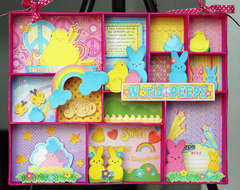 World Peeps Altered Tray *NEW Creative Imaginations*