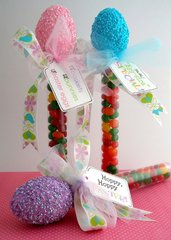 Easter Tubes Party Favors