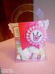 Girl's Birthday Party Favor or Gift Bag/Box